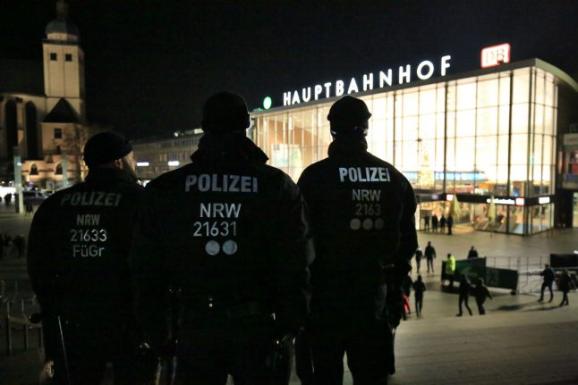 Cologne police accused of racial profiling at New Year celebrations