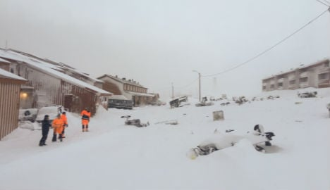 Homes evacuated as avalanche hits Arctic Svalbard