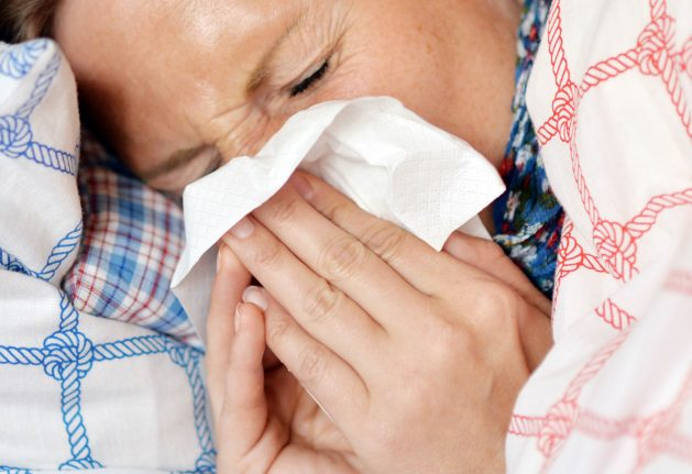 This is where the flu has been hitting Germany hardest