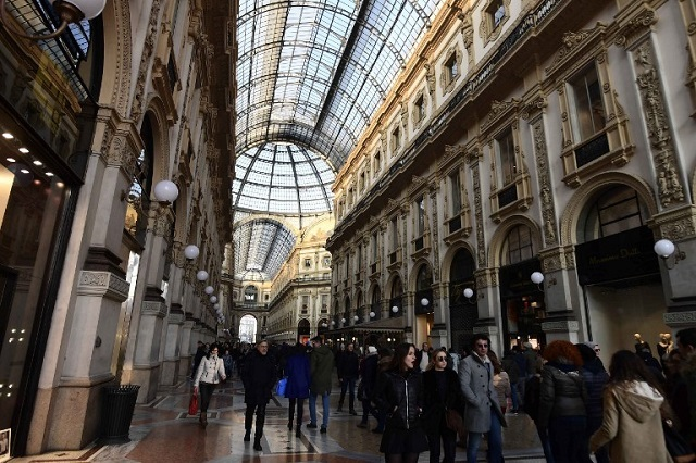 In Italy, cloudy Milan outshines the capital