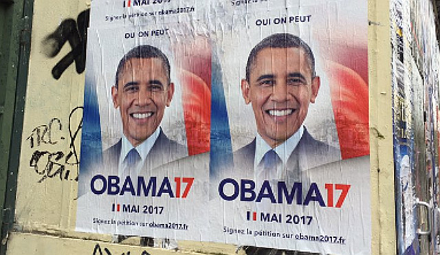 It's an Obama-nation! French voters demand former US president take charge of France