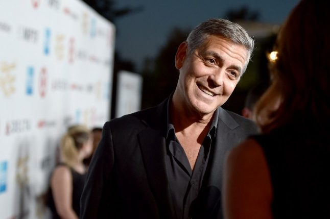 France's film academy to honour George Clooney
