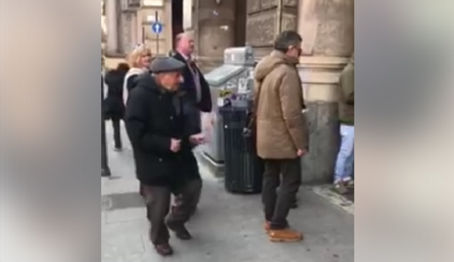 This dancing grandad has become a viral star in Italy