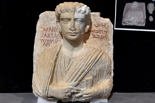 Two cultural treasures rescued from Isis have been restored in Italy