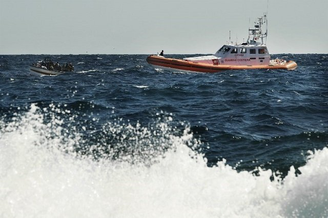 Italy's coast guard rescues another 700 people off Libyan coast