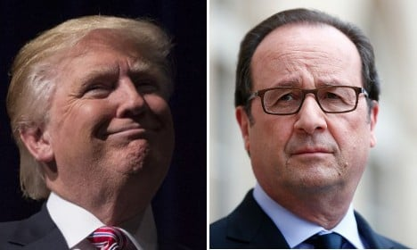 Hollande tells Donald Trump to butt out and leave the EU alone