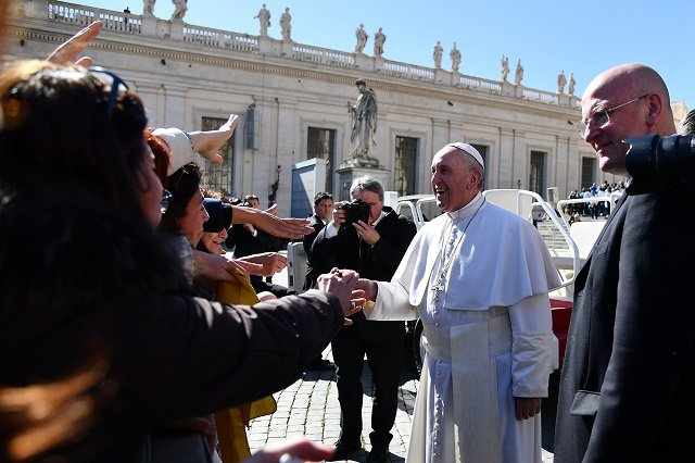 The pope will meet all EU leaders ahead of Rome summit