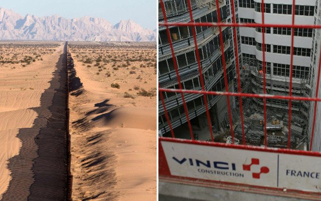 French construction giant Vinci says 'non' to helping build Trump's wall