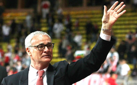 Ranieri gets top Rome award for leading Leicester City to victory