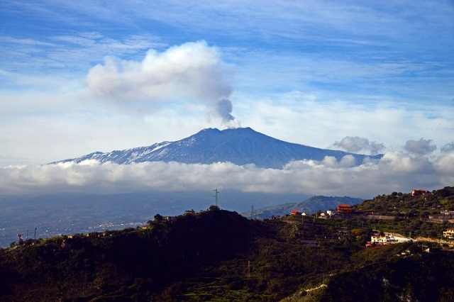 IN PHOTOS: Eruptions continue at Etna after explosion that injured ten