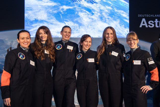 One of these women could be Germany's first female astronaut