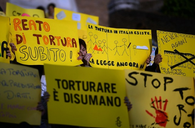 Make torture a crime, Council of Europe tells Italy
