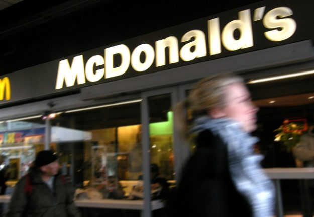 McDonald's staff 'stopped woman from buying food for homeless man'