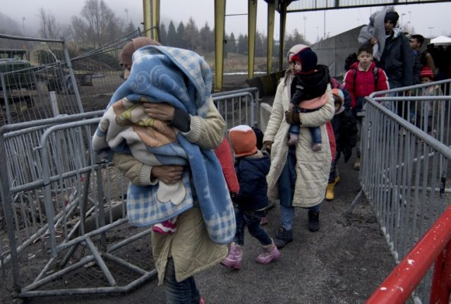 Attacks on migrant homes double in Austria