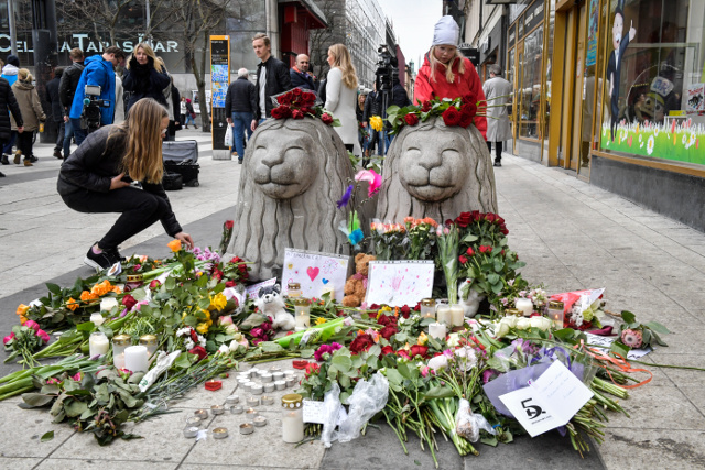 How the truck attack brought the best out of Stockholm