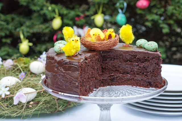 How to make the perfect Swedish chocolate cake for Easter