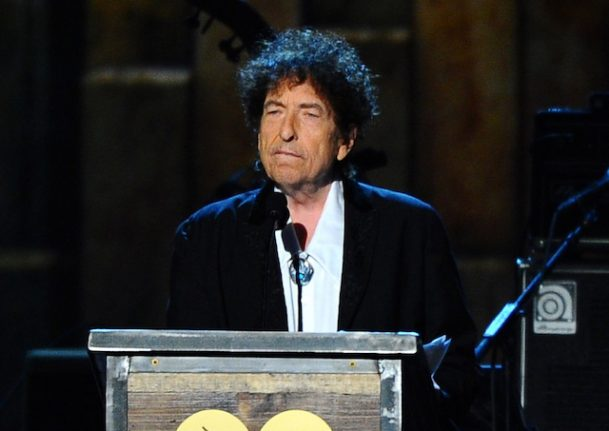 Slow Train Coming: Dylan in Stockholm to accept Nobel