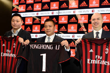 AC Milan's new owners target Champions League return