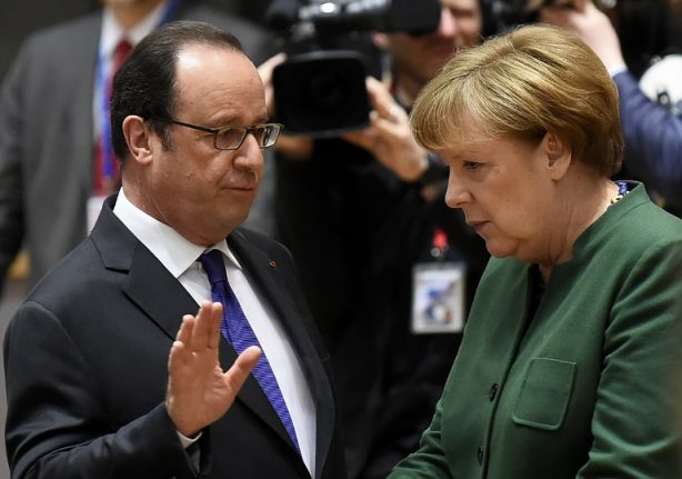 Hollande says Syrian regime solely to blame after US air strikes