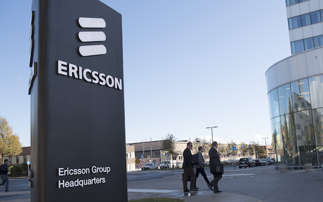 Ericsson makes expected hefty loss