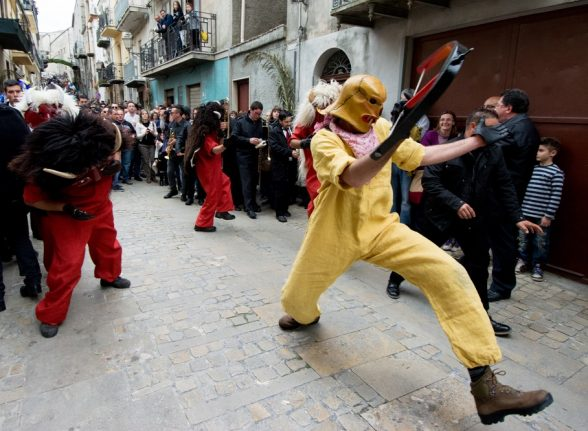 Dancing devils and egg olympics: Nine of Italy's most curious Easter festivals