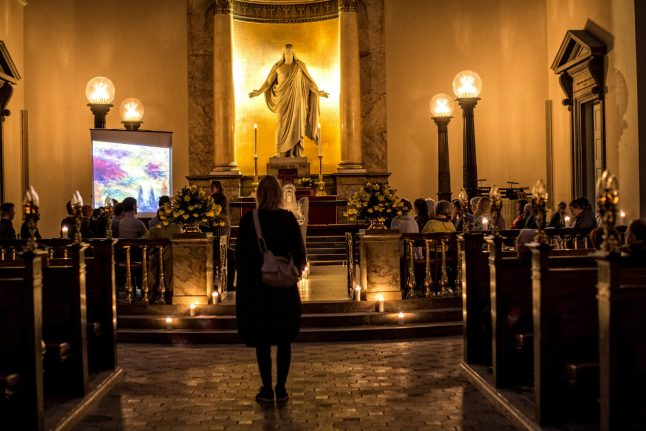 Denmark's late night churches try to bring back worshippers