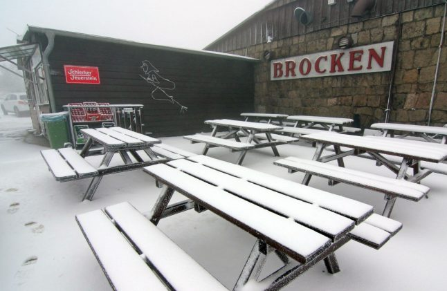 Winter wear at the ready! Snow and storms predicted for Easter