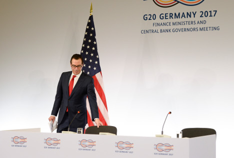 Germany and China must do more to cut trade surpluses: US