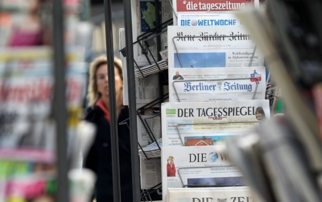 German trust in newspapers soars to record level