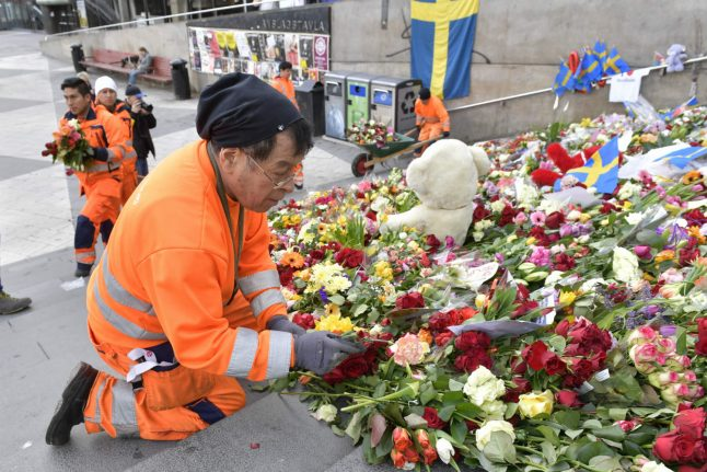 Stockholm takes first steps back to normal after truck attack