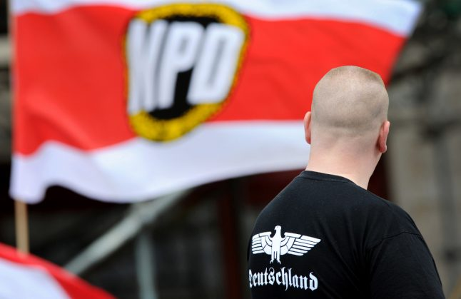 Germany moves to eliminate state funds for far-right party