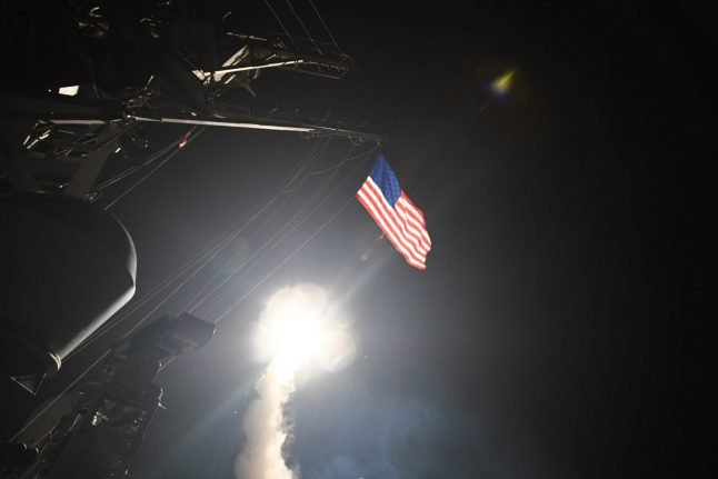 Danish foreign minister supports US Syria bombing