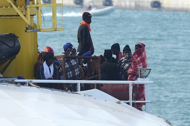 Italy's coastguard: 3,000 people rescued on Saturday