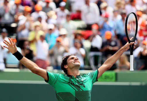 Federer beats Nadal to win Miami Open