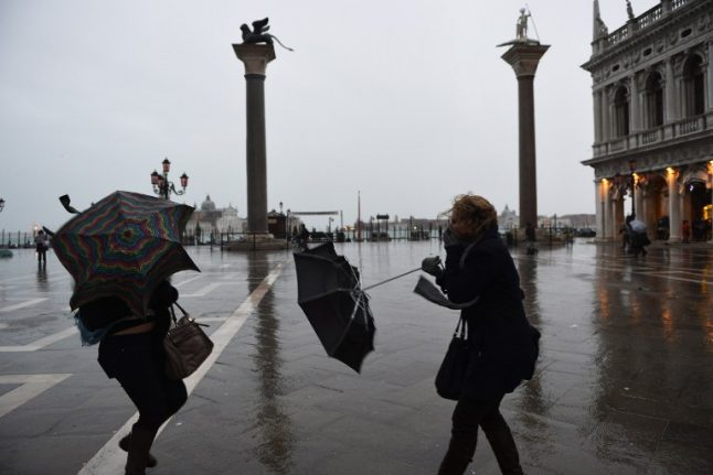 Parts of Italy to be hit by a month's worth of rain in just 48 hours