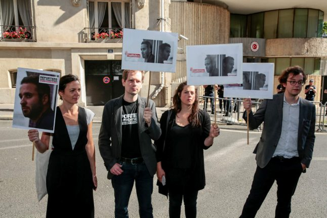 French photojournalist held in Turkey ends hunger strike: RSF