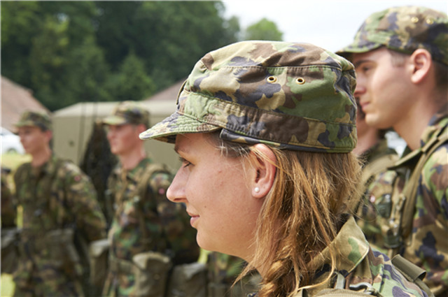 Switzerland takes step closer to military conscription for women