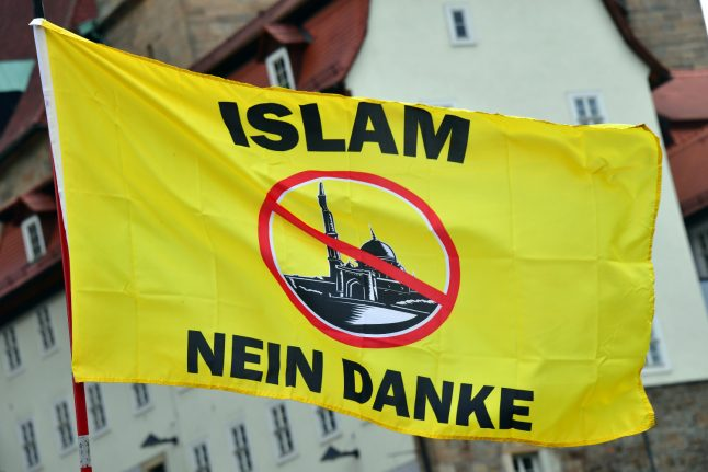 Planned Erfurt mosque targeted with dead pigs on wooden stakes