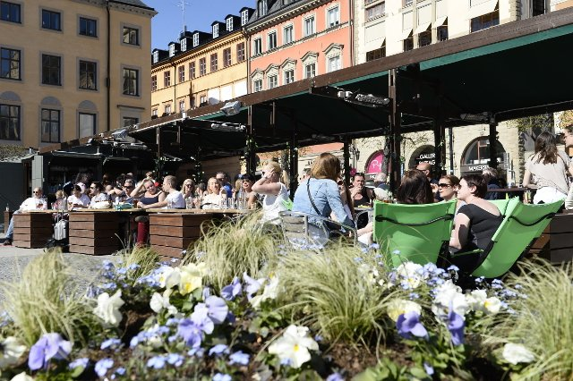 Sweden celebrates as summer weather finally arrives after chilly spring