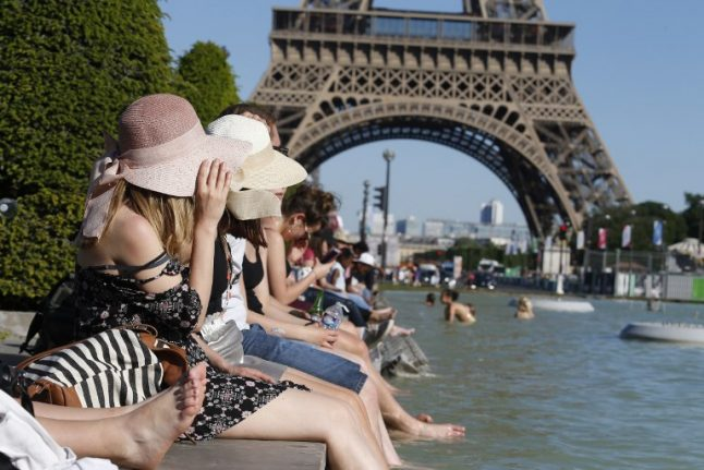 France feels the heat under 'hottest Ascension weekend since 1900'... and there's more to come