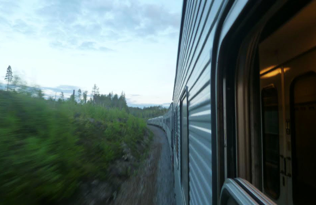 Tales of the Midnight Sun – on the night train from Kiruna to Stockholm