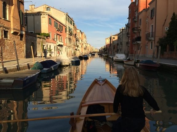 'Rowing in Venice is unique - it's the closest you'll get to walking on water'
