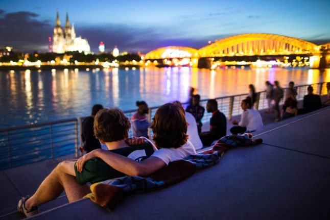 Germans among world's happiest people about economic situation