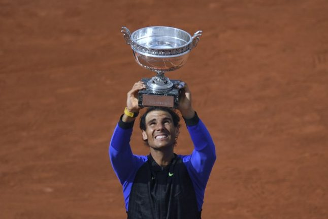 Rafa Nadal breaks records with epic tenth French Open title