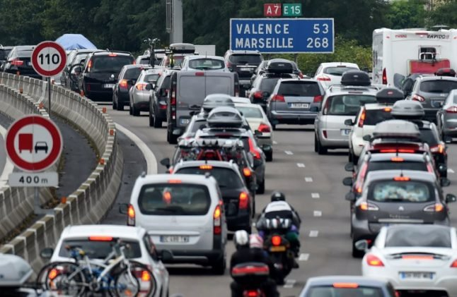 These are the days to avoid driving on roads in France this summer