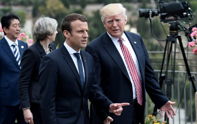 Trump accepts Macron's invitation to attend July 14th celebrations in Paris