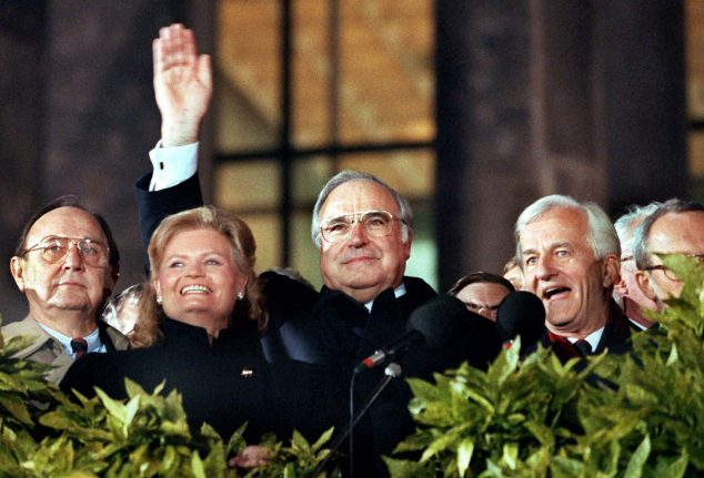 Helmut Kohl, the giant who towered over European politics