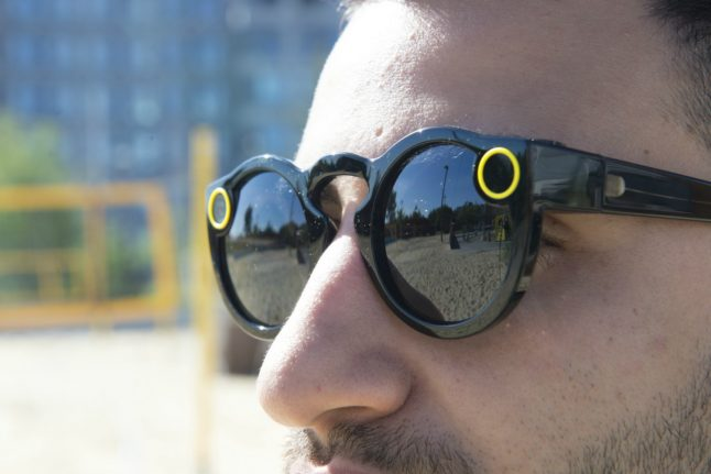 Video-enabled Snapchat glasses drop into Berlin for popup event