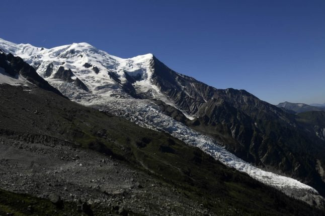 French Alps: Austrian falls to death on Mont Blanc