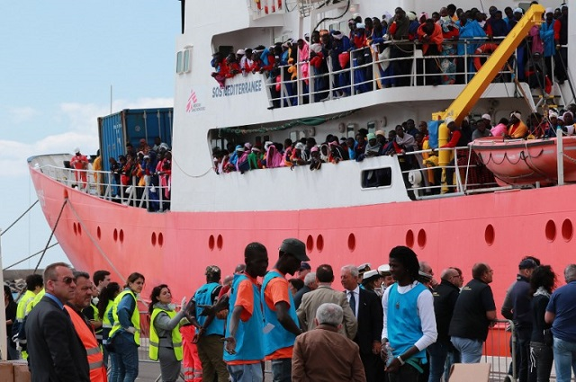 The EU commission has unveiled a migrant 'action plan' for Italy